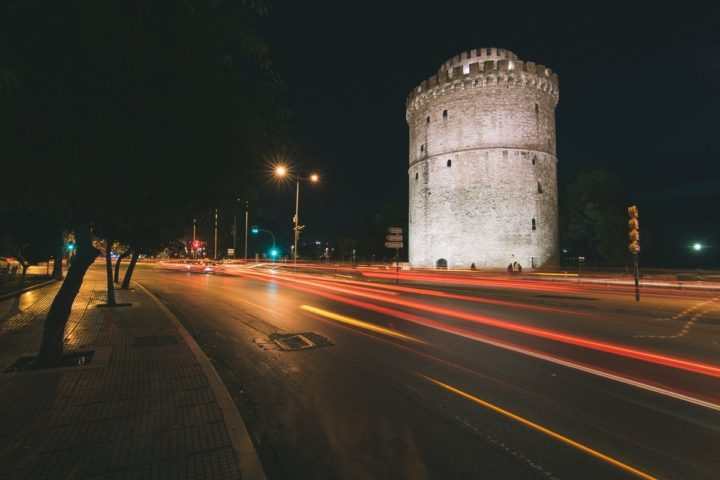 Long Exposure, White Tower Thessaloniki