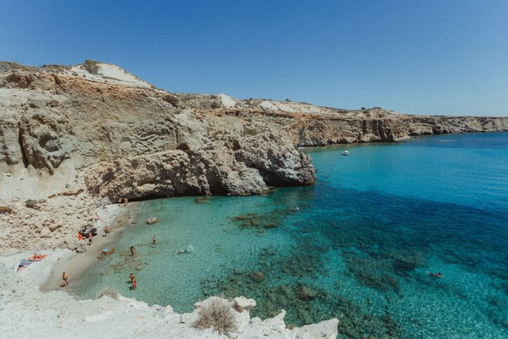 Tsigrado Beach,Milos Greece