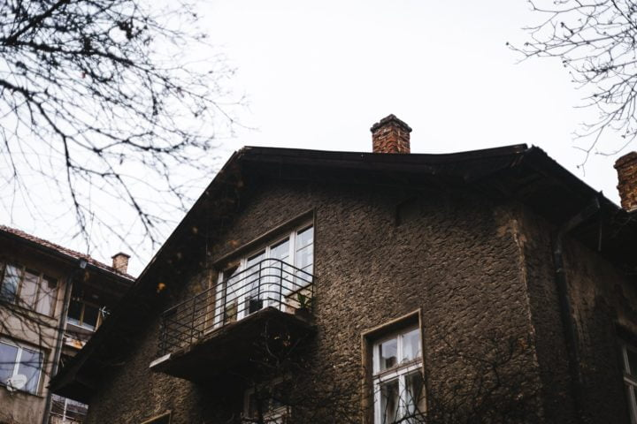 Old House in Sofia, Bulgaria