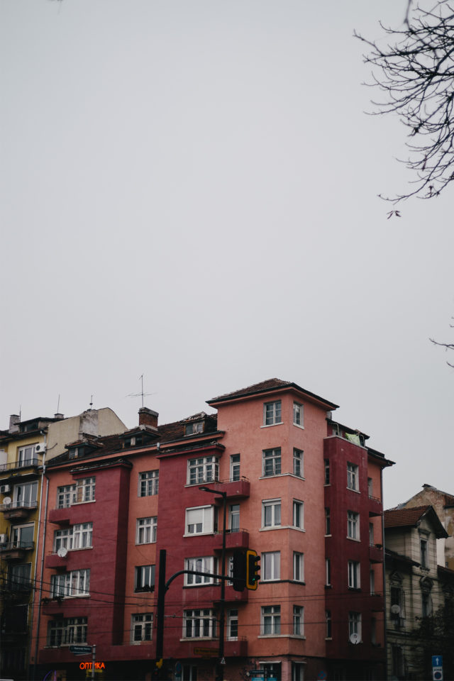 Colorful Building at Sofia