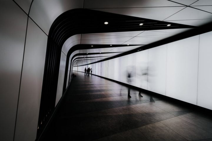 King Cross Light Tunnel